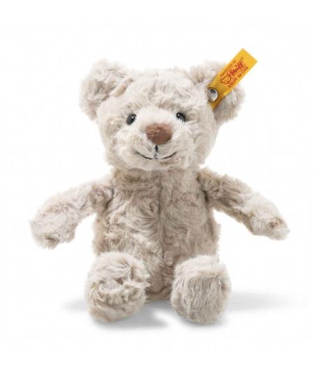 STEIFF 113352 Sunny Teddybär 22cm creme im Koffer Teddy Bär